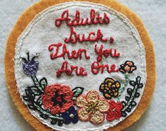 Adults suck patch