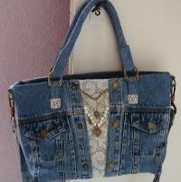 Design Your Own Handbag Sewing Class – Purses And Handbags Totes Denim Handbags, Denim Tote Bags, Denim Purse, Denim Bags From Jeans, Blue Jeans, Jeans Bleu, Jean Crafts, Denim Crafts, Blue Jean Purses
