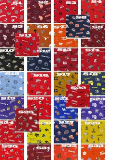 College Logo Fabric Covered Bulletin Board by LoveAlwaysWhitney, $30.00