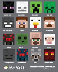 Would you like to have the best Minecraft party ever? Download the free…