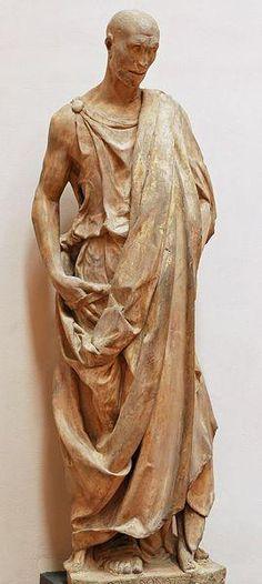 Donatello | Prophet Habakkuk 1427-36. Size (height): 196 cm (marble). Museo dell'Opera del Duomo, Florence, Italy