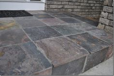 Slate Tile Porch — Decor and the Dog