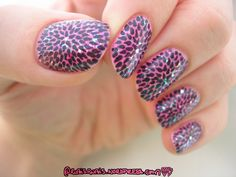 piCture pOlish  Blog Fest 2013 mani art by Rubis Rubis!  Features Candy, Mardi Gras & Aphrodisiac   www.picturepolish.com.au
