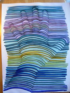 Really pleased with how this 3-D hand drawing worked out. Saw it here: http://pinterest.com/pin/98727416804429418/