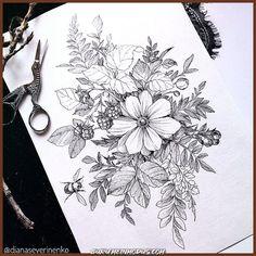 Blätter tattoo old school tattoo arm tattoo tattoo tattoos tattoo antebrazo arm sleeve tattoo Aster Flower Tattoos, Flower Tattoo Designs, Flower Tattoo Drawings, Dahlia Tattoo, Body Art Tattoos, Sleeve Tattoos, Female Tattoos, Tatoos, Dragons Tattoo