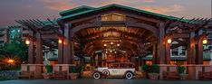 the grand californian is the most romantic disneyland hotel.