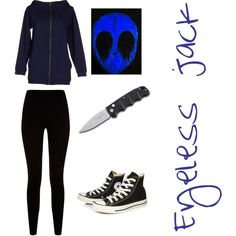 Eyeless jack by thebrokendoll on Polyvore featuring polyvore fashion style Maison About Givenchy Converse