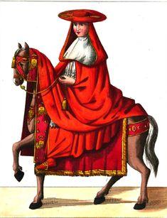Formant la plus haute sphère de l'église romaine, les #cardinaux sont nommés par le pape et l'assistent dans ses fonctions. L'insigne distinctif des cardinaux est la #couleur #rouge (dite pourpre cardinalice), couleur du sénat romain, rappelant le sang versé par le Christ. Ce #cardinal à cheval rejoindrait-il Rome ?? #numelyo #color