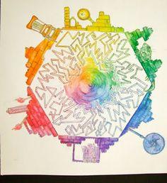 high school color wheel