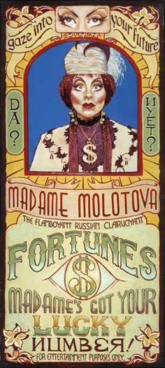 Madame Molotova, The Flamboyant Russian Clairvoyant