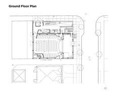 Rebirth of The York Theatre,Ground Floor Plan
