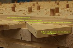 Holzhaus, Massivholzhaus, Vollholzhaus   Wandkonstruktion mit Holzschraube. (1200×799)