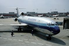 Eastern [Air Lines, Boeing] Hartsfield Intl Boeing 727, Boeing Aircraft, Passenger Aircraft, Airline Jobs, Airport Jobs, Vintage Air, Commercial Aircraft, Civil Aviation, Line S