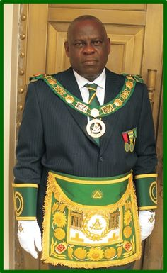 masonic lodge in ghana | Masonic Times: Ghana's South-East PGM Otwasuom Osae Nyampong VI to ...