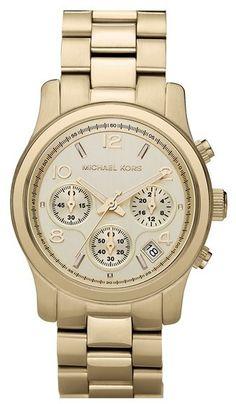 MICHAEL Michael Kors Michael Kors 'Runway' Chronograph Watch, 39mm on shopstyle.com