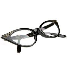 Cat Eye Clear Lens Womens Glasses Tortoise Brown Frame Rhinestone Eyeglasses for sale online New Glasses, Cat Eye Glasses, Blue Pendant Light, Mens Glasses Frames, Cat Eye Frames, 1950s Fashion, Fashion Fashion, Runway Fashion, Fashion Trends