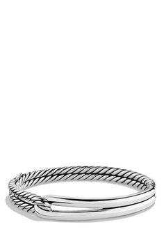David Yurman 'Labyrinth' Single Loop Bracelet available at #Nordstrom