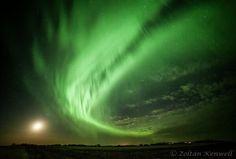 Northern Lights in Edmonton, Canada.