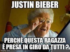 Signora vede Justin Bieber: guarda la reazione!