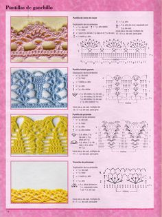 ONLY POINTS: Borders, crochet lace
