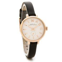 f4dd6ba438 マークバイマークジェイコブス レディース腕時計 サリー MBM1352 ホワイト×ブラックレザーベルト- おしゃれな腕時計なら