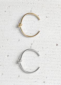 Knot Extra Thin Bracelet/ CELINE