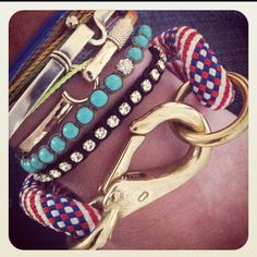 The ROPES spr./summer 2012 #theropes #theropesmaine #bracelets #armparty #armcandy #armsituation #jewelry