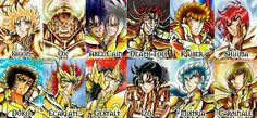 Cavaleiros de Ouro de Next Dimension