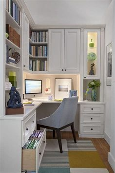 new york corner kitchen desk home office traditional with drawers modern wingbac… - modernmim. new york corner kitchen desk home office traditional with drawers modern wingbac… – modernmimar Home Office Layouts, Home Office Organization, Home Office Space, Home Office Decor, Office Ideas, Small Office, Office Nook, Office Spaces, Organization Ideas