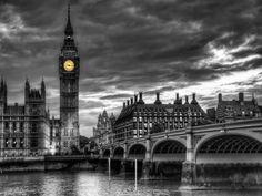 London's Big Ben in black and white. #bigben #clocktower #london #england #monochrome #photography