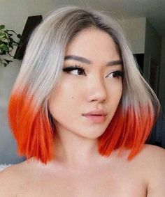 2020 trends 14 Of the Incredible Hair Color Ideas Worth Checking Out for 2020 Hair Color Streaks, Hair Color Purple, Hair Dye Colors, Cool Hair Color, Hair Highlights, Blue Hair, Hair Color For Man, White Hair, Black Hair Blonde Streak