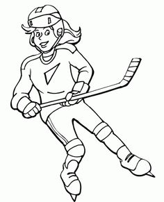 Here is Hockey Coloring Sheets for you. Hockey Coloring Sheets free printable coloring pages hockey players pusat hobi. Sports Coloring Pages, Coloring Pages Winter, Colouring Pages, Coloring Pages For Kids, Coloring Sheets, Coloring Books, Fall Coloring, Hockey Birthday Parties, Hockey Party