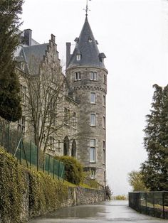 The castle in Rochefort, Belgium - Wallonia