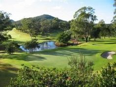 First Ever game - Nelson Bay Golf Club NSW
