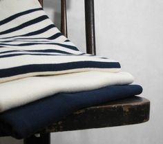 Fileuse d'Arvor - Quimper - Finistere - Maille - Cotton Rib Knit Shirt