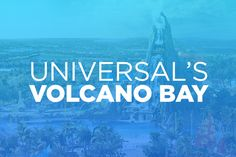 Live the carefree island life at Universal's Volcano Bay™. It's an all-new water theme park like no other filled with thrills, indulgence and rejuvenation.  No standing in long lines, wrestling with tubes, or waiting for the fun to begin. It's a tropical paradise just steps away from everything Universal Orlando Resort™ has to offer.