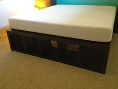 Finally, a Cal-King Bed Frame with space for dog kennels   IKEA Hackers Clever ideas and hacks for your IKEA