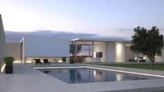 Winery House BORDEAU by JACQUES VAN HAREN , via Behance