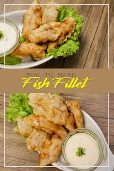 Filipino Seafood Recipe, Pinoy Recipe, Filipino Food, Filipino Recipes, Easy Chicken Recipes, Fish Recipes, Seafood Recipes, Recipies, Cream Dory