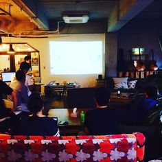#iot #身体機能 #拡張 #筑波大学 #meetup #geeky #werecommunity we welcomed the team from Univ of Tsukuba and the session about extension of body function by IoT is going on today! So geeky! by impacthubtokyo