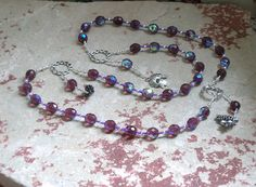 Dionysos (Dionysus, Bacchus) Prayer Beads: Greek God of Wine, Theater, Ecstasy and the Mysteries by HearthfireHandworks on Etsy