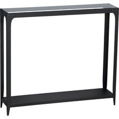 Arc Console Table in Side, Coffee Tables | Crate and Barrel