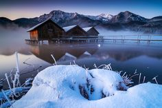 Lake Kochelsee by PSchellig. Please Like http://fb.me/go4photos and Follow @go4fotos Thank You. :-)