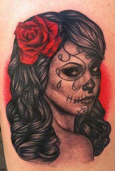 day of the dead tattoos | Day of the Dead : Tattoos :
