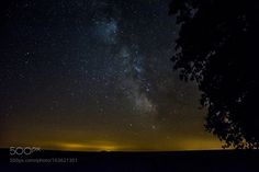 The Milky Way and the tree  The Milky Way and the tree in Bourgogne France.  Camera: NIKON D7100 Lens: 18.0-140.0 mm f/3.5-5.6 Focal Length: 18mm Shutter Speed: 15sec Aperture: f/3.5 ISO/Film: 1250  Image credit: http://ift.tt/2a2nZvw Visit http://ift.tt/1qPHad3 and read how to see the #MilkyWay  #Galaxy #Stars #Nightscape #Astrophotography