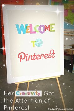 A creative resume pinned to Pinterest lands a recent grad an interview at Pinterest. She shares her insights on businesses using Pinterest for social media marketing.