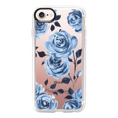 Porcelain Roses - iPhone 7 Case And Cover (125 BRL) ❤ liked on Polyvore featuring accessories, tech accessories, iphone case, apple iphone case, clear iphone case, iphone cases and iphone cover case