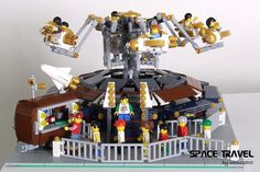 LEGO custom Fairground Ride, by nuno2500, via Flickr