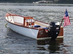 Joel White Jericho Bay Lobster Boat - very nice in white