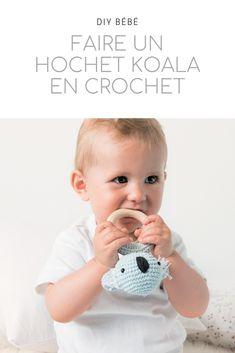 Crochet Diy, Crochet Amigurumi, Learn To Crochet, Hand Crochet, Crochet Hooks, Tricot Baby, Baby Koala, Crochet Needles, Easter Bunny Decorations